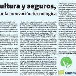 Agricultura y seguros, unidos por la innovación tecnológica